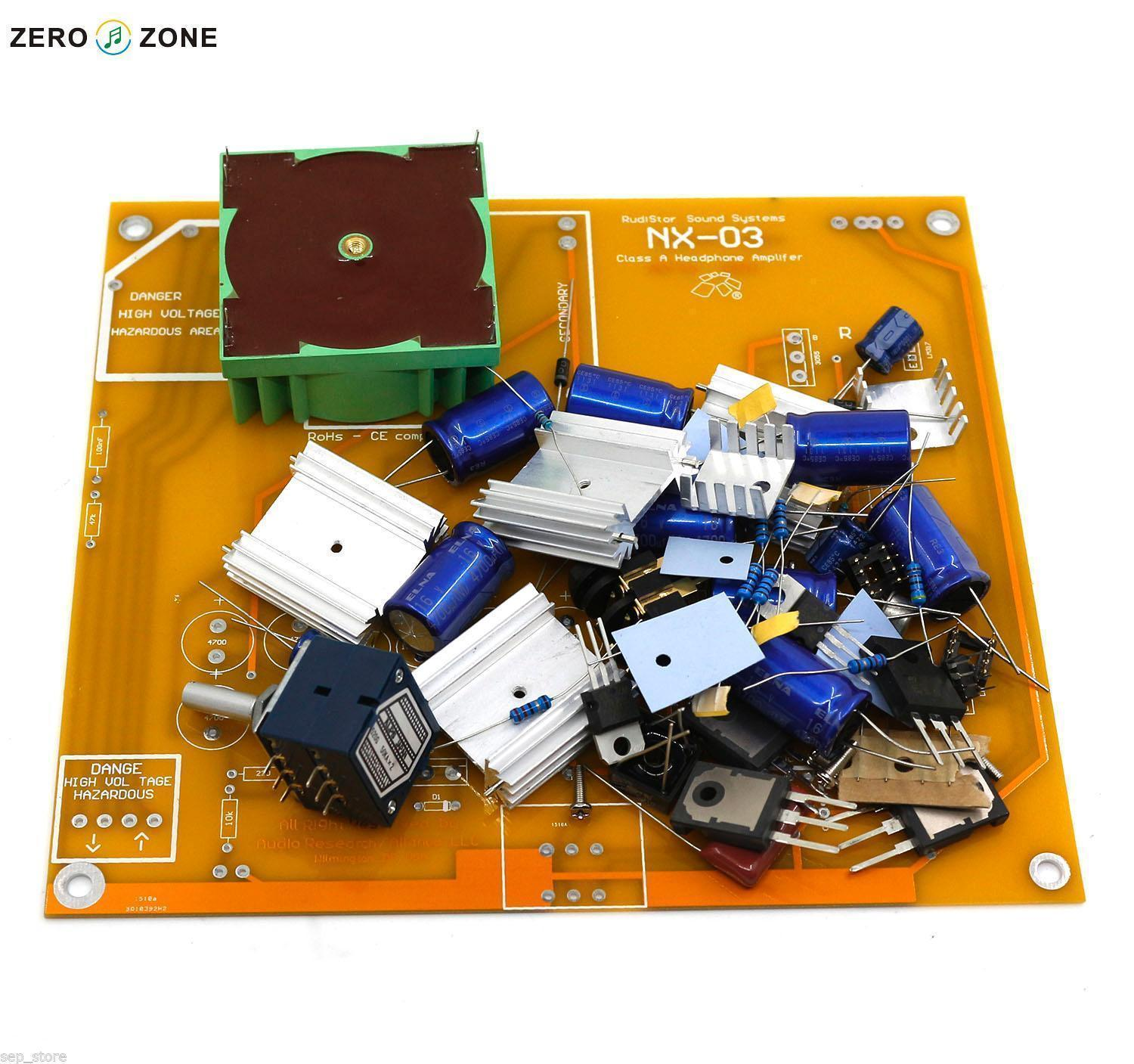 GZLOZONE NX 03 Headphone Amplifier Kit Base On Italy ...