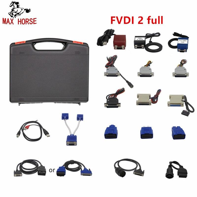 La version fonctionnelle complète de FVDI 2 est les meilleurs produits de FVDI, elle inclut VAG pour Mercedes pour BMW etc, temps illimité pour employer