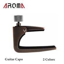 Aroma AC-11 Kapodaster Zink-legierung für Akustische Elektrische Gitarren Einzigartige Farbe Hohe Qualität Gitarre Teile und Zubehör
