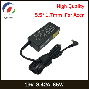 19V 3.42A 65W 5.5*1.7mm AC Laptop Charger Power Adapter For Acer Aspire 5315 5630 5735 5920 5535 5738 6920 7520 6530G 7739Z