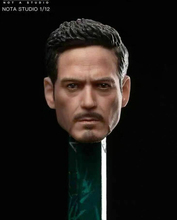 6Male Action Figure Accessory 1/12  Iron Man Tony Head Sculpt with glasses head Carved Model For 6 Male/man Action Figure Body 1 6 man head sculpt carving supernatural dean winchester jensen ackles type headsculpt for 12 male action figure body