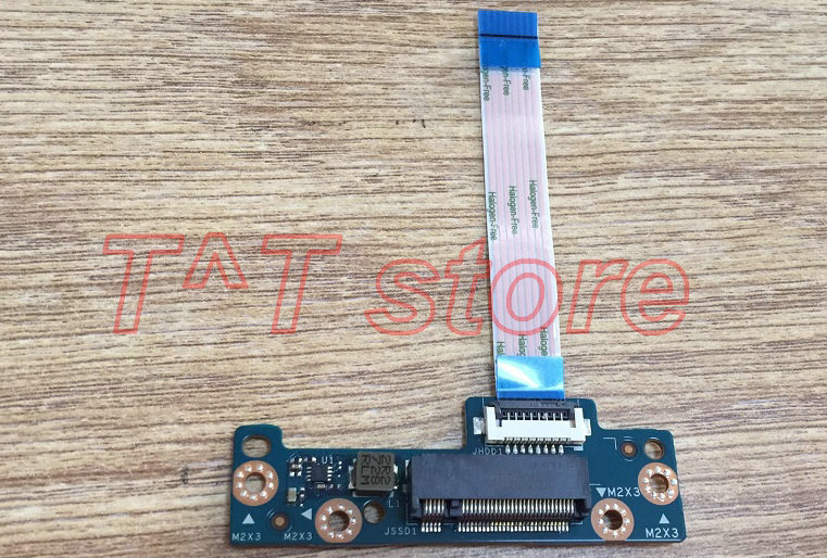 original For HP 15T-BR 15Z-BW 15-BS HDD NGFF SSD connector board with cable CSL50 LS-E796P test good free shipping original svs13 series hdd hard drive cable connector v120 hdd fpc h 1p 1123x08 2111 fpc 270 test good free shipping