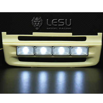 LESU Front LED Light Bulb 1 14 RC Tractor Sca Truck Model Tmy R620 R470 TH02338