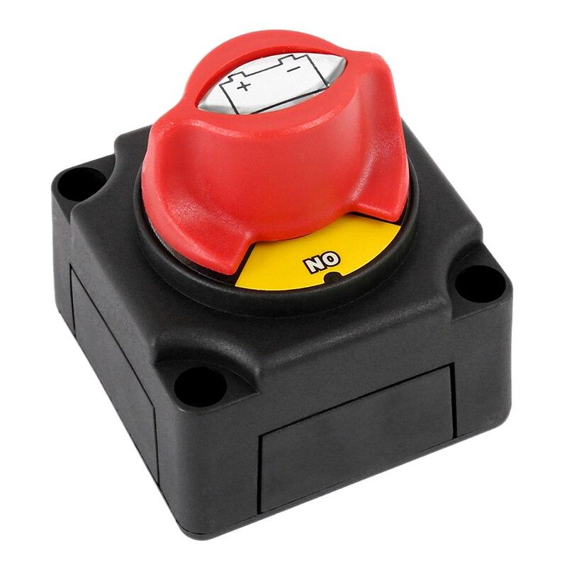 Автомобильный выключатель с аккумулятором 300 А, выключатель автоматического отключения для автомобиля, лодки, яхты, квадроцикла