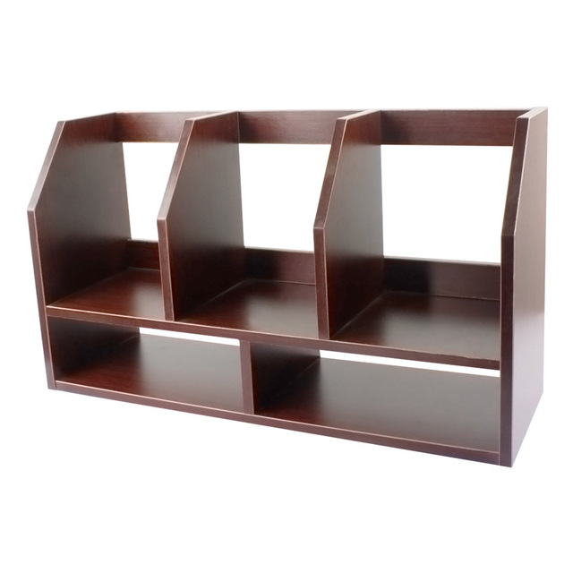 Modern Wood Bookshelf Display Corner Bookcase Storage Shelving Unit Five  Shelves Suitable For The Living Room, Office.