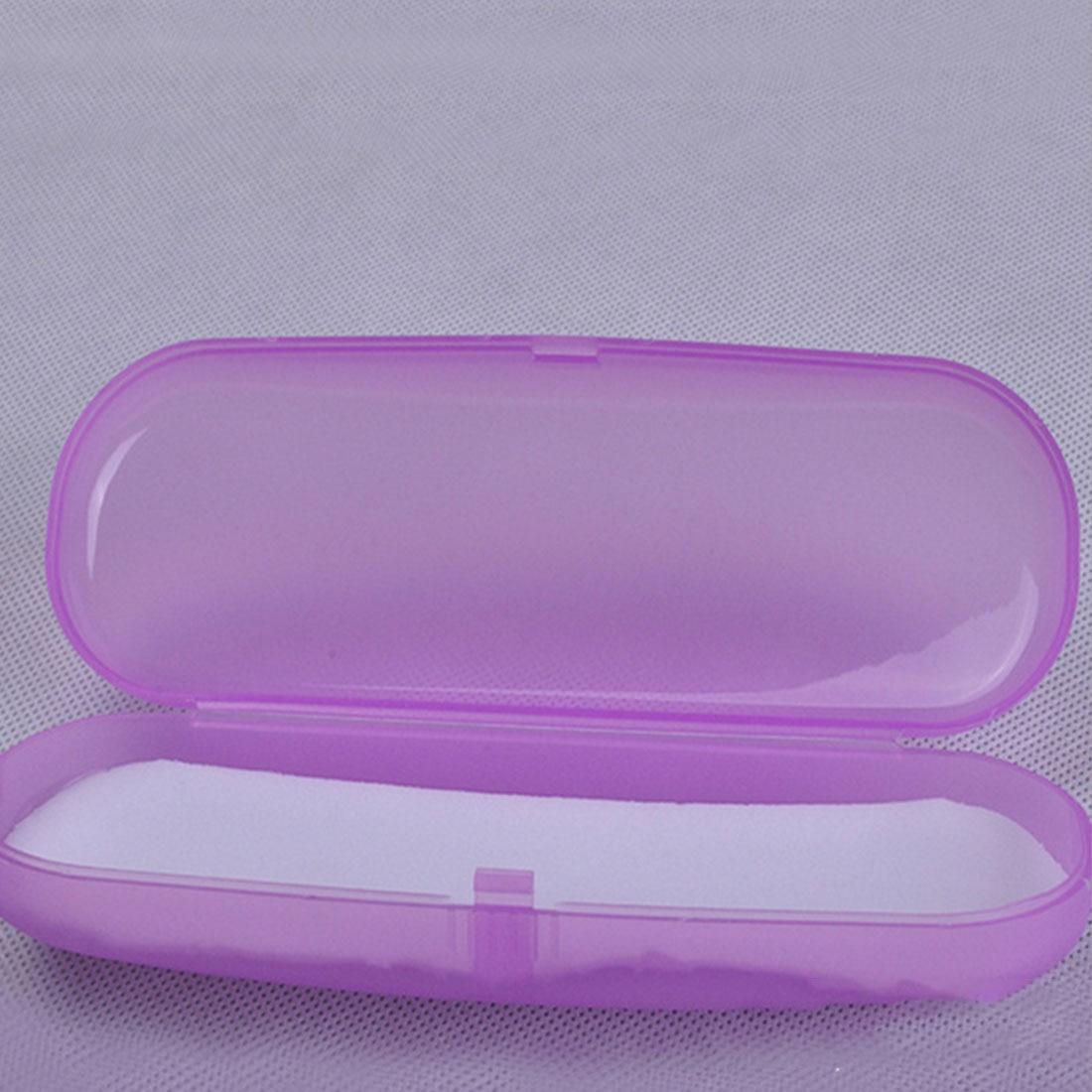 Прозрачный чехол для солнцезащитных очков, жесткий пластиковый Простой Футляр для очков, портативный чехол для хранения очков, переносной Защитный Чехол для очков
