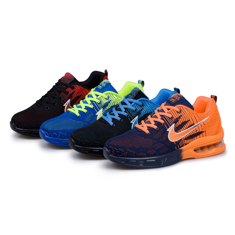 Brand Men's Sport Running Shoes Music Rhythm Men's Sneakers Fly Line Breathable Outdoor Athletic Light Male Shoe Zapatos hombre 2017brand sport mesh men running shoes athletic sneakers air breath increased within zapatillas deportivas trainers couple shoes