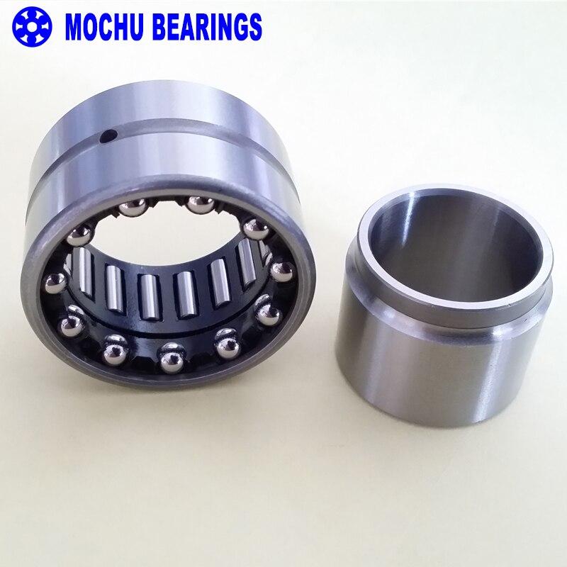 1 pièce NKIA5910 NKIA5910-XL 50X72X30 NKIA MOCHU combiné roulements à aiguilles à aiguilles roulement à billes à Contact oblique