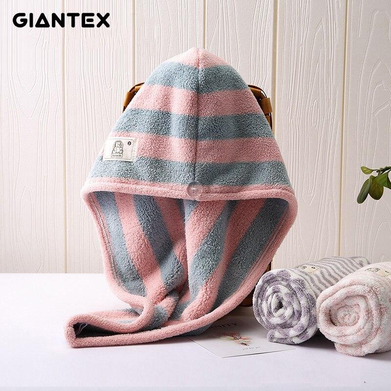 GIANTEX Women Towels Bathroom Microfiber Towel Hair Towel Bath Towels For Adults Toallas Serviette De Bain Recznik Handdoeken