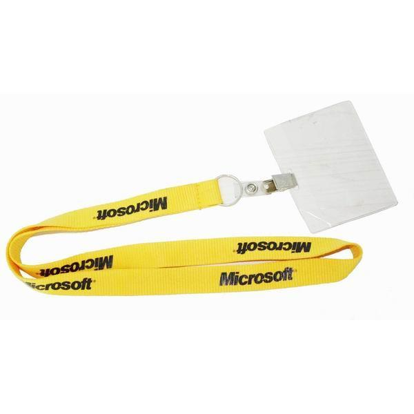 Купить с кэшбэком 100pcs/lot customized lanyard polyester neck strap lanyard with your own logo printed  by DHL express