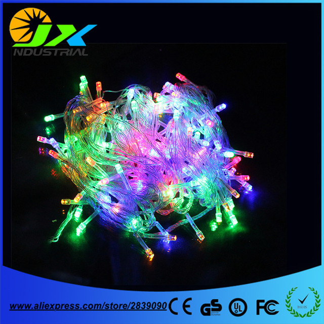 warm white 50m 300 led string lighting wedding fairy christmas lights outdoor twinkle christmas decoration outdoor