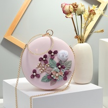 2018 Betterance Mini Beading and ring luxury handbags high quality women famous brands bolsa redonda de couro