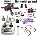 Марсианский II 2 220 мм 220 Углеродного Волокна Рама Комплект FS-I6S F3 2205 Мотор LittleBee 30A TS5823 Для RC Quadcopter Гонки Кросс Drone +