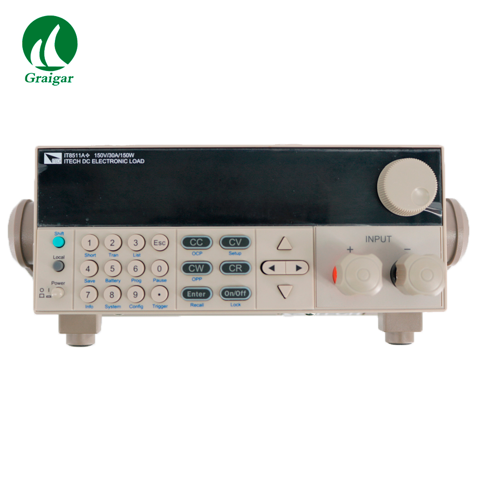High performance and affordable single channel DC electronic load IT8511A+  high resolution voltage(0.1mV)|Battery Testers| |  - title=