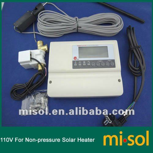 110V controller for non-pressurized solar water heater