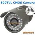 À prova d' água HD 800TVL Segurança CCTV Câmera Ao Ar Livre Com 30 IR Luz Night Vision Cor Imagem Câmera de Vigilância Fornecimento de Fábrica