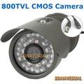 Водонепроницаемый 800TVL HD Безопасности Открытый CCTV Камеры С 30 ИК Свет Ночного Видения Цвет Изображения Камеры Наблюдения Питания Завод