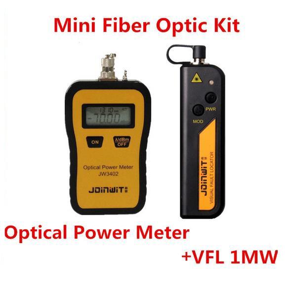Joinwit Mini Fiber Optic Visual Fault Locator 5KM and Optical Power MeterJoinwit Mini Fiber Optic Visual Fault Locator 5KM and Optical Power Meter