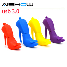 pendrive flash card High heels 4gb 8gb 16gb 32gb 64gb, pendrives cartoon USB3.0 usb flash drive usb memory pen driver gadget