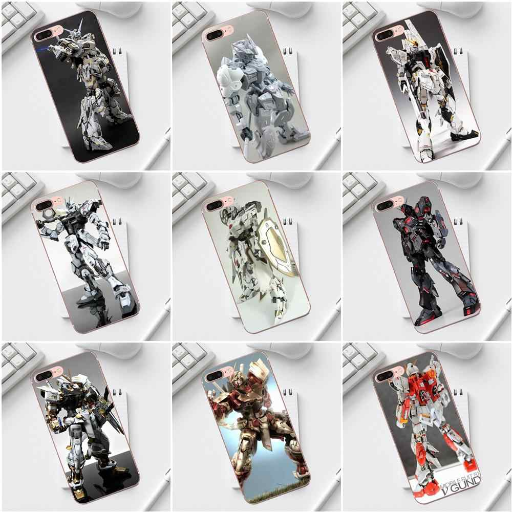 Qdowpz TPU Coque Anime Gundam Rx Illust Toy Space Art For Galaxy Alpha Core Prime Note 4 5 8 S3 S4 S5 S6 S7 S8 S9 mini edge Plus
