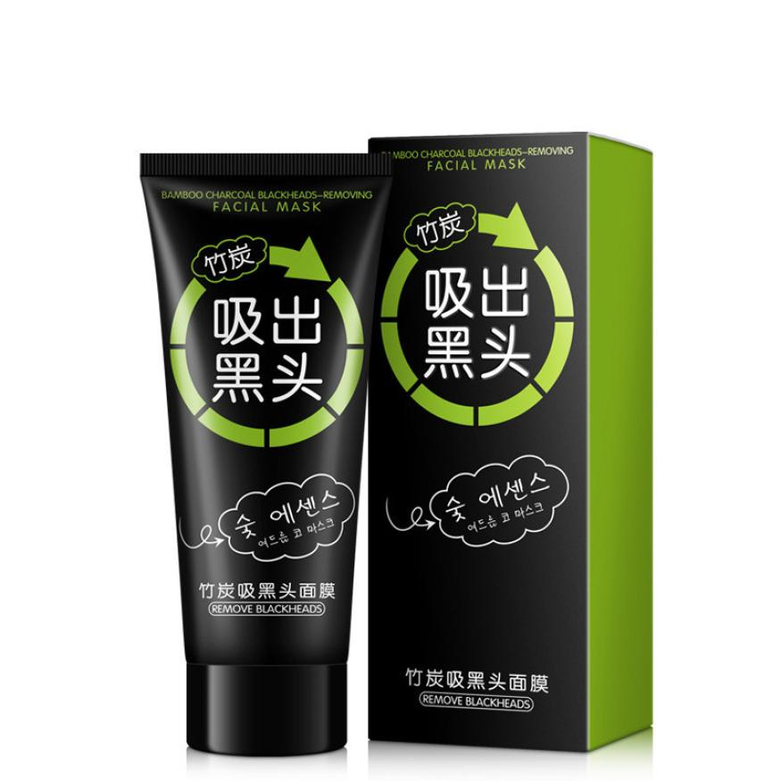 Siyah Nokta Peel Off Mask NEW Black Mud Cleansing Purifying Facial Mask Beauty Skin Care ...