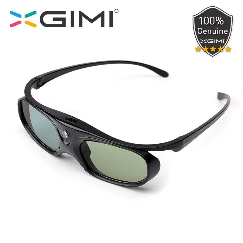 Óculos DLP XGIMI Original 3D-Link Ativo Do Obturador Recarregável Embutida Bateria 60 horas de trabalho para XGIMI H2 H1 Z6 CC S