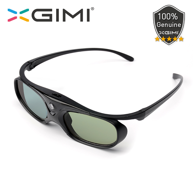 XGIMI Original 3D Glasses DLP-Link Active Shutter Rechargeable Built-in Battery Working 60 Hours For XGIMI H2 H1 Z6 CC S