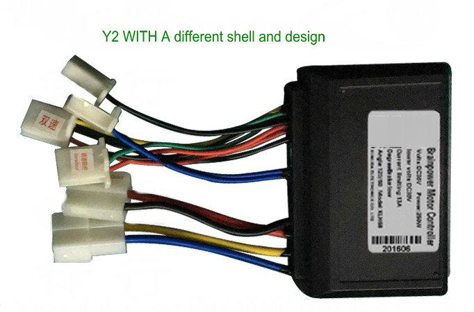 BRUSH controller y2