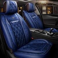 Зимние плюшевые автокресло крышка Подушка для hyundai i30 ix35 ix25 Elantra Santa Fe соната Tucson автомобилей площадку, подушки сиденья авто
