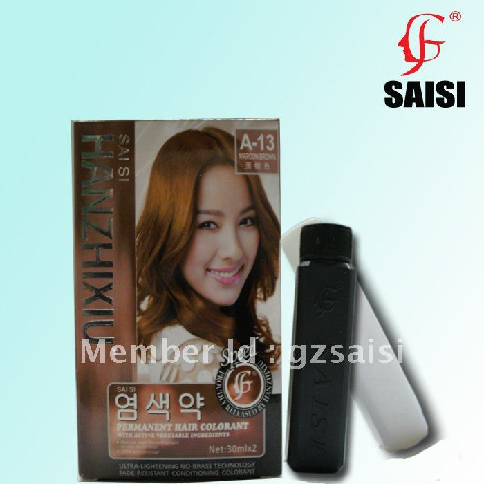 Aliexpress Buy Plum Red 30mlx2 Permanet Hair Color Dye With