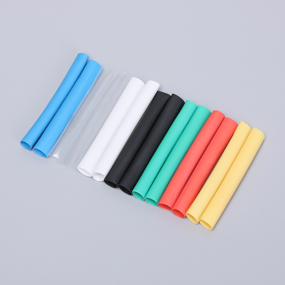 12PCS/Set Universal Heat Shrink Tube Saver Cover For iPhone Lightning Charger Cable USB Cord Protector New Wire Organizer
