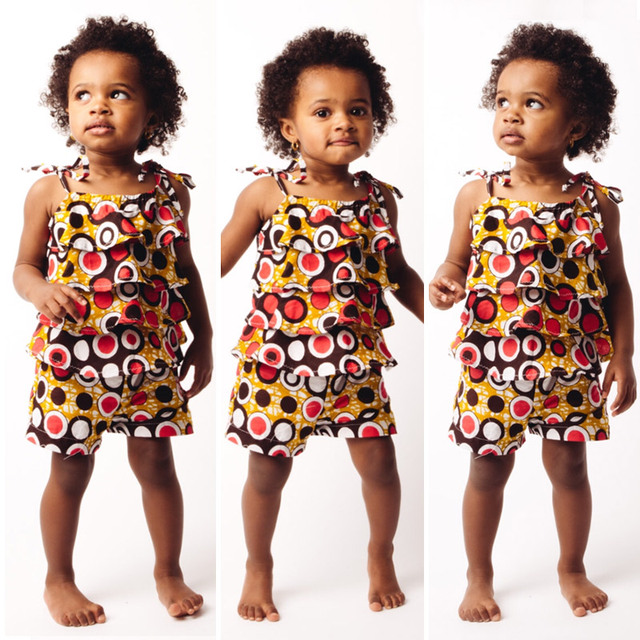 2017 African Clothing For Childrenl Kids Dashiki Traditional Cotton