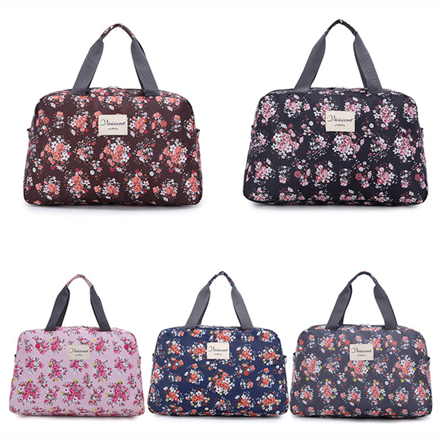 Large Capacity Floral Sports Bag