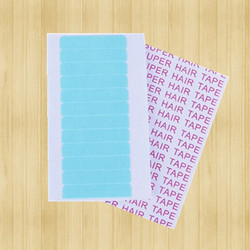 Wholesale 1 sheets 12pcs 4cm 0 8cm super hair tape adhesive double side tape for remy.jpg 250x250