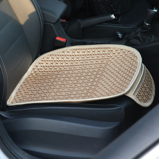 LMoDri Summer Car Seat Cover Durable Polyester Auto Seats Cushion Pad Front Back Nonslip Cool