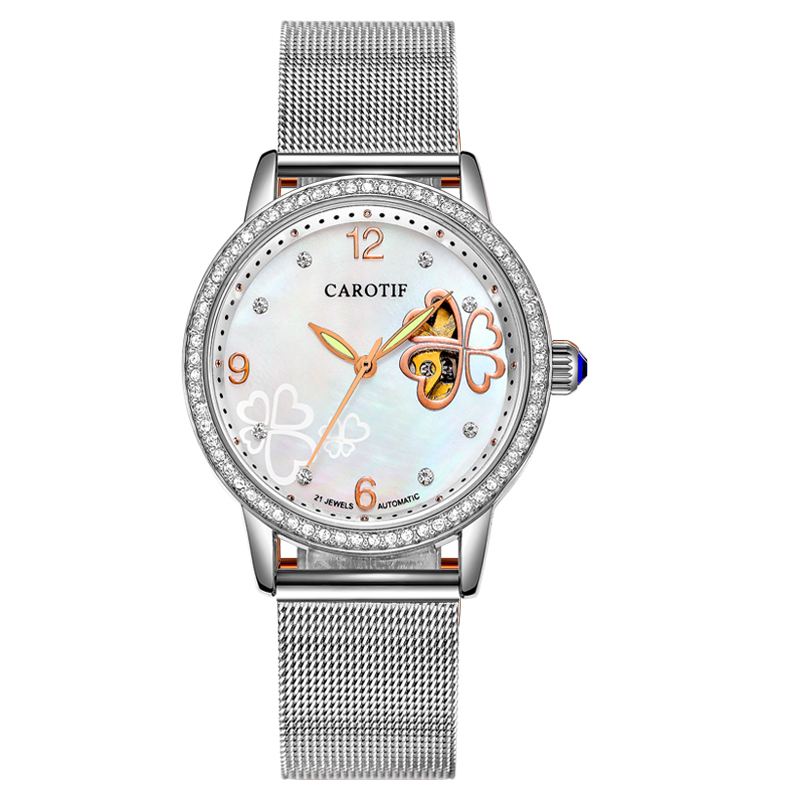 Carotif Fashion automatische mechanische horloges dames - Dameshorloges - Foto 3