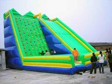 2016 New super large inflatable climbing sports game inflatable climbing wall and slide for kids and adults недорого