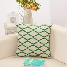 Creative Geometric Linen Cotton Pillow