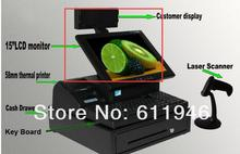LCD monitor for the POS system