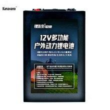 Kanavano 12 V 40AH 3S16P 12,6 V высоко-литиевый блок питания для инвертора Шахтерская ксеноновая лампа светодиодный свет с двумя usb-интерфейсом