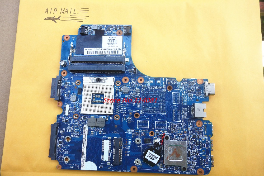 ФОТО 683495-001 /  683495-501 / 683495-601 Motherboard For Hp Probook 4540S 4740S 4440s 4441s Notebook Mainboard Tested before send
