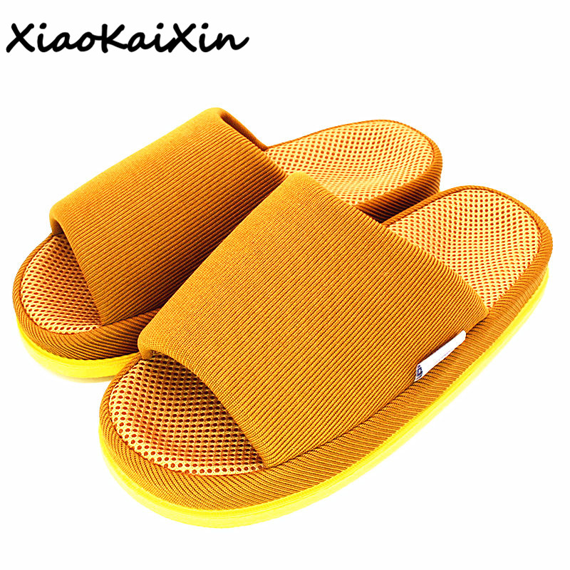 Ergonomic design Massage slippers for Men Women Couples Summer Solid Colors Mesh Home Shoes Teenager Slides Flip Flops pantufa free shipping 6x1x0 2m cheap inflatable gymnastics tumbling mat air floor for home use beach park and water free one pump