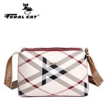 FERAL CAT Women Bags PVC Luxury handbags women bags designerTorebki damskie  Crossbody for beach bagChannels