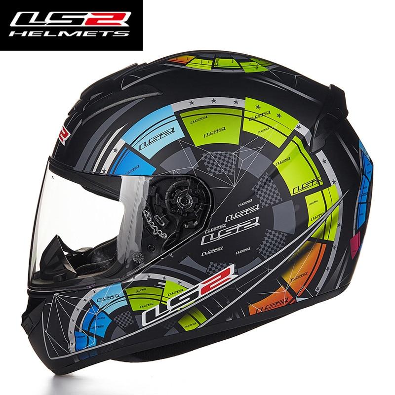Новое поступление LS2 FF352 мотоциклетный шлем модный дизайн Полный лица гоночные шлемы ECE DOT утвержден Capacete шлем Moto-in Шлемы from Автомобили и мотоциклы