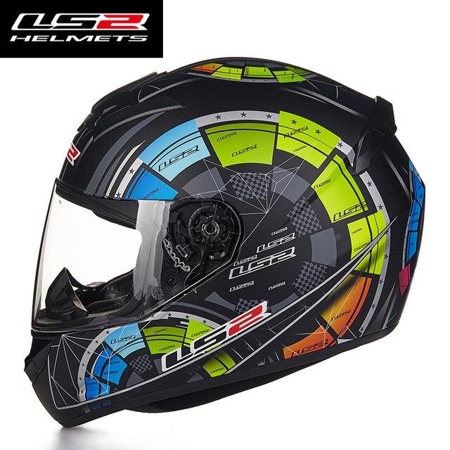 Nieuwe Collectie LS2 FF352 Motorhelm Fashion Design Volledige Gezicht Racing Helmen Ece Dot Goedgekeurd Capacete Casco Casque Moto