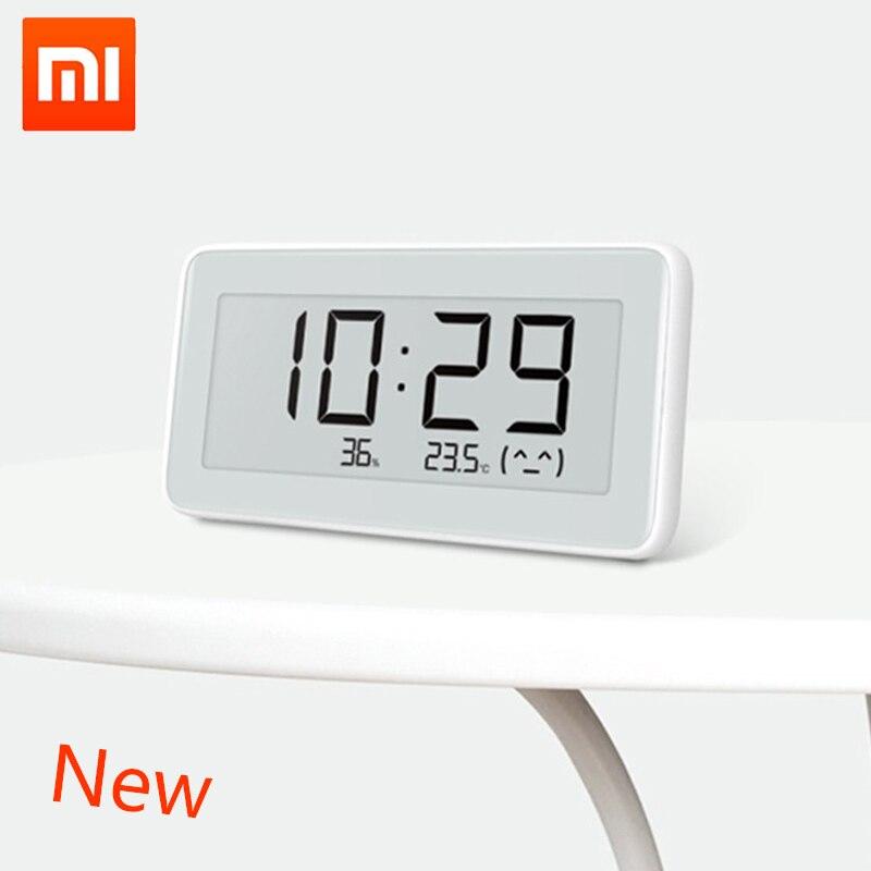 Image 2 - Xiaomi MiaoMiaoCe E Link INK  LCD Screen Digital clock Moisture  Meter High Precision Thermometer Temperature Humidity SensorSmart  Remote Control