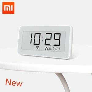 Image 2 - Xiaomi MiaoMiaoCe E Link INK  LCD Screen Digital clock Moisture Meter High Precision Thermometer Temperature Humidity Sensor