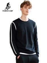 パイオニアキャンプ男性スウェット有名なブランドの服ファッションパーカー男性トップ品質カジュアルトラックスーツ春秋 AWY702315