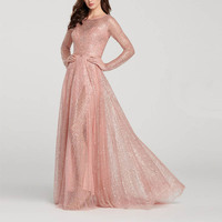 Summer Maxi Dress Women Evening Prom Sexy Dress Ever Pretty Sequined Lace Appliques Wedding Long Dress 2019 Party Gowns