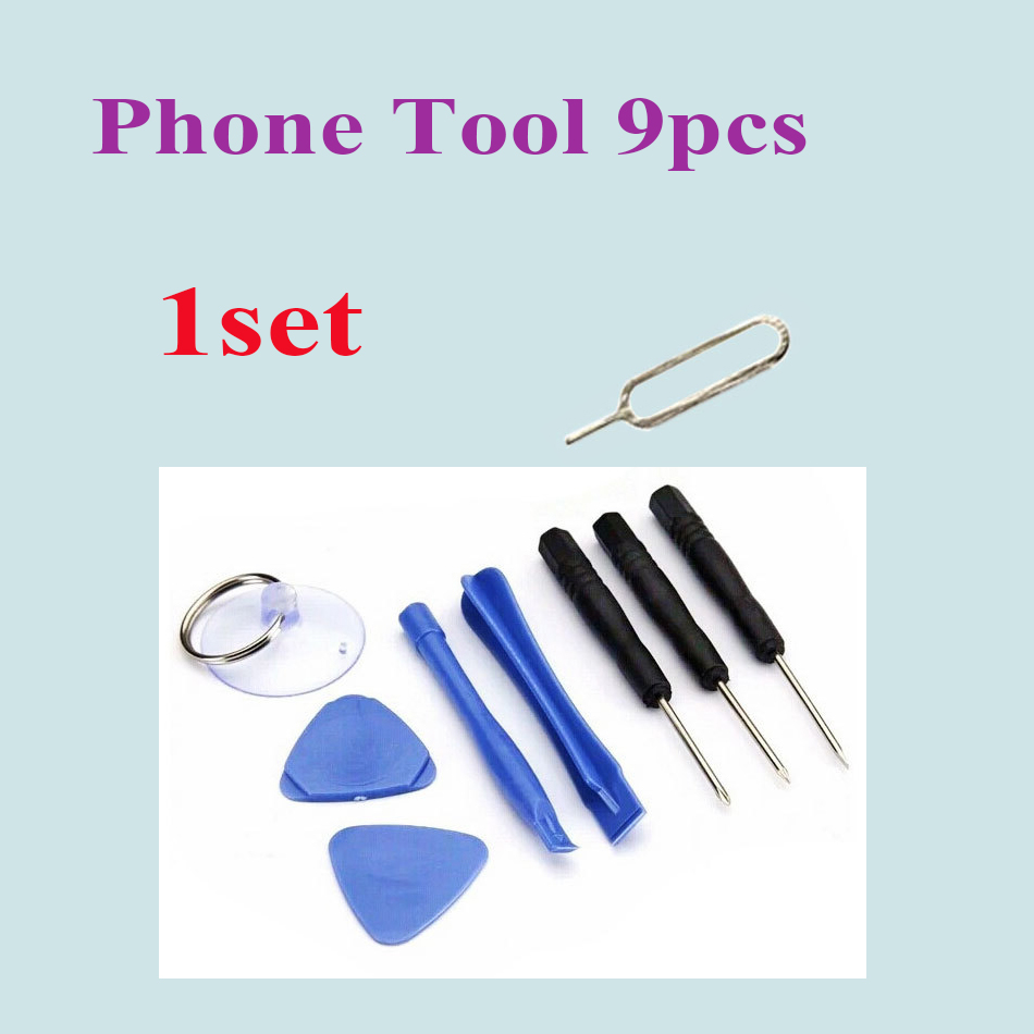 9pcs in 1 Set Hand Repair Phone Disassemble Pry Open Tools Kit Torx Screwdriver for iPhone 6 Plus 4 4s 5 5c 5s 6s Touch Screen